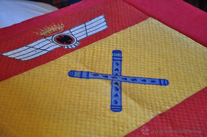 Militaria: AVIACION, BANDERIN DE CAPITAN GENERAL EPOCA ANTERIOR. - Foto 3 - 41244107