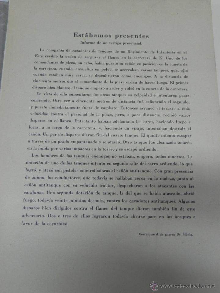 Militaria: CARPETILLA DIVISION AZUL DIE WEHRMACHT, UNIFORMEN UND DIESTGRADABZDEICHEN, HEER, KRIEGSMARINE, LUFTW - Foto 3 - 41261812