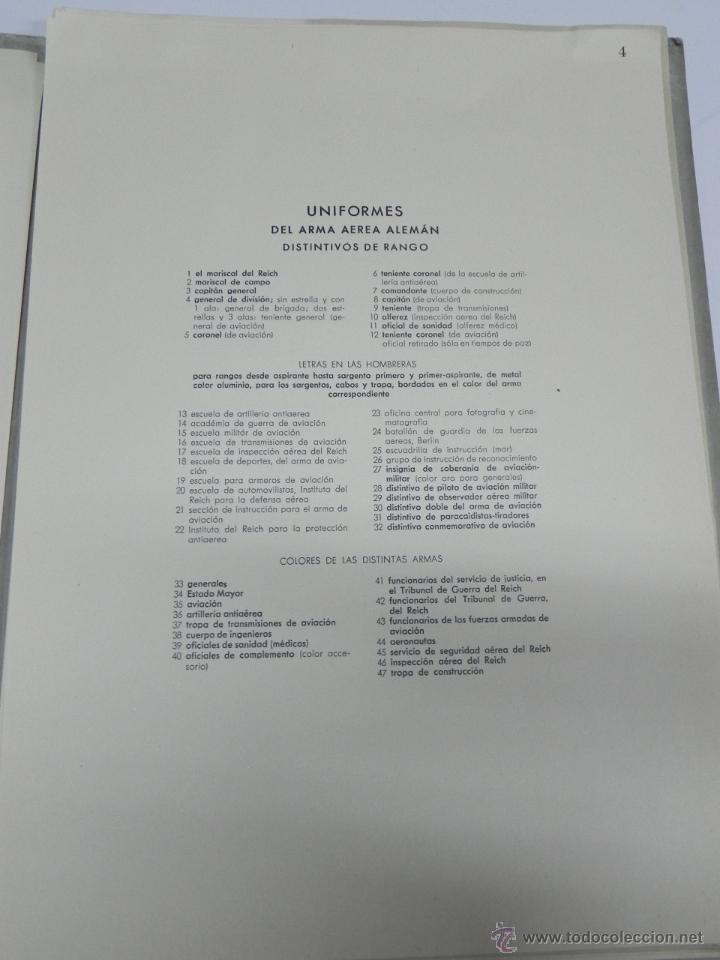 Militaria: CARPETILLA DIVISION AZUL DIE WEHRMACHT, UNIFORMEN UND DIESTGRADABZDEICHEN, HEER, KRIEGSMARINE, LUFTW - Foto 7 - 41261812