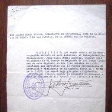 Militaria: VOLUNTARIO TERCIO DE REQUETES DE SAN JORGE 1936. .. Lote 41467377