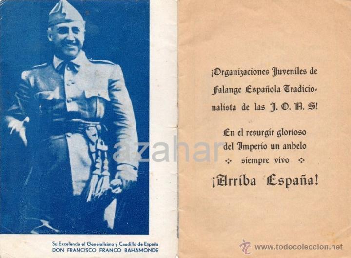 Militaria: 17 DE JULIO DE 1936 EN MELILLA, FALANGE ESPAÑOLA DE LAS JONS,16 PAGINAS - Foto 2 - 41473382