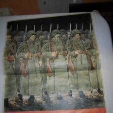 Militaria: CARTEL VENCEREMOS. Lote 41552637