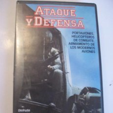 Militaria - ATAQUE Y DEFENSA. PORTAAVIONES, HELICOPTEROS DE COMBATE, ARMAMENTO DE AVIONES... VIDEO.. - 41598827