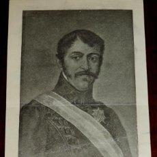 Militaria: CARLISMO. DON CARLOS V DE ESPAÑA. DON CARLOS MARÍA ISIDRO DE BORBÓN (1788-1855) SU MAGESTAD CATÓLICA. Lote 42192348