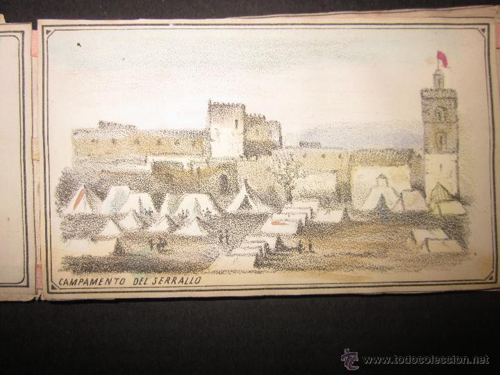 Militaria: ALBUM DEDICADO AL EJERCITO DE AFRICA EN SU ENTRADA TRIUNFANTE EN VALENCIA-AÑO 1860-GENERAL PRIM(V635 - Foto 4 - 43406360