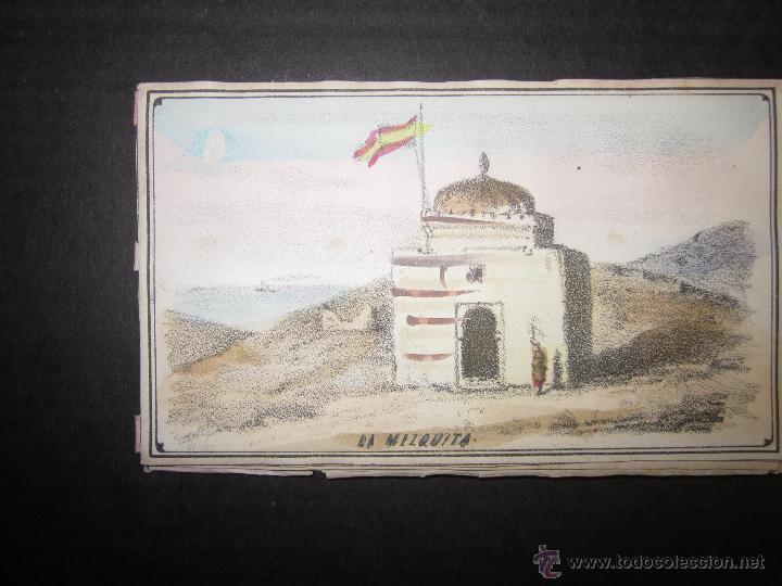 Militaria: ALBUM DEDICADO AL EJERCITO DE AFRICA EN SU ENTRADA TRIUNFANTE EN VALENCIA-AÑO 1860-GENERAL PRIM(V635 - Foto 5 - 43406360