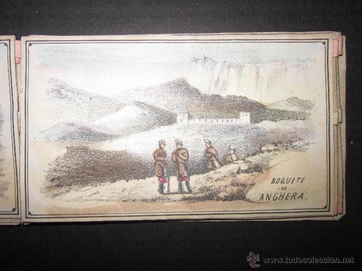 Militaria: ALBUM DEDICADO AL EJERCITO DE AFRICA EN SU ENTRADA TRIUNFANTE EN VALENCIA-AÑO 1860-GENERAL PRIM(V635 - Foto 6 - 43406360
