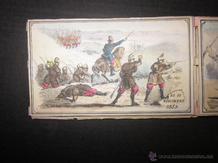 Militaria: ALBUM DEDICADO AL EJERCITO DE AFRICA EN SU ENTRADA TRIUNFANTE EN VALENCIA-AÑO 1860-GENERAL PRIM(V635 - Foto 7 - 43406360