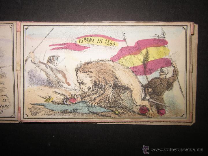 Militaria: ALBUM DEDICADO AL EJERCITO DE AFRICA EN SU ENTRADA TRIUNFANTE EN VALENCIA-AÑO 1860-GENERAL PRIM(V635 - Foto 8 - 43406360