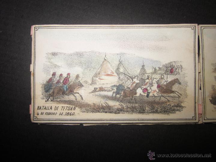 Militaria: ALBUM DEDICADO AL EJERCITO DE AFRICA EN SU ENTRADA TRIUNFANTE EN VALENCIA-AÑO 1860-GENERAL PRIM(V635 - Foto 11 - 43406360