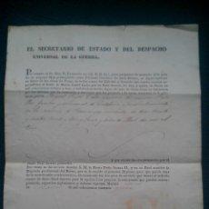 Militaria: 1841. CONCESION MEDALLA MARIA ISABEL LUISA. 1ª GUERRA CARLISTA PERACAMPS LLEIDA LLEIDA PEDRO CHACON. Lote 43496007