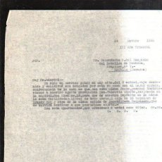 Militaria: NOVIEMBRE 1938. COMANDANTE DEL DESPACHO DEL BATALLON DE MONTAÑA. ESTELLA, BAVARRA. GUERRA CIVIL. LEE. Lote 43958136