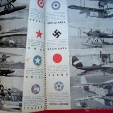 Militaria: REVISTA AIRE - Nº 4 - GUERRA CIVIL - AVIACIÓN - 1938. Lote 44268174