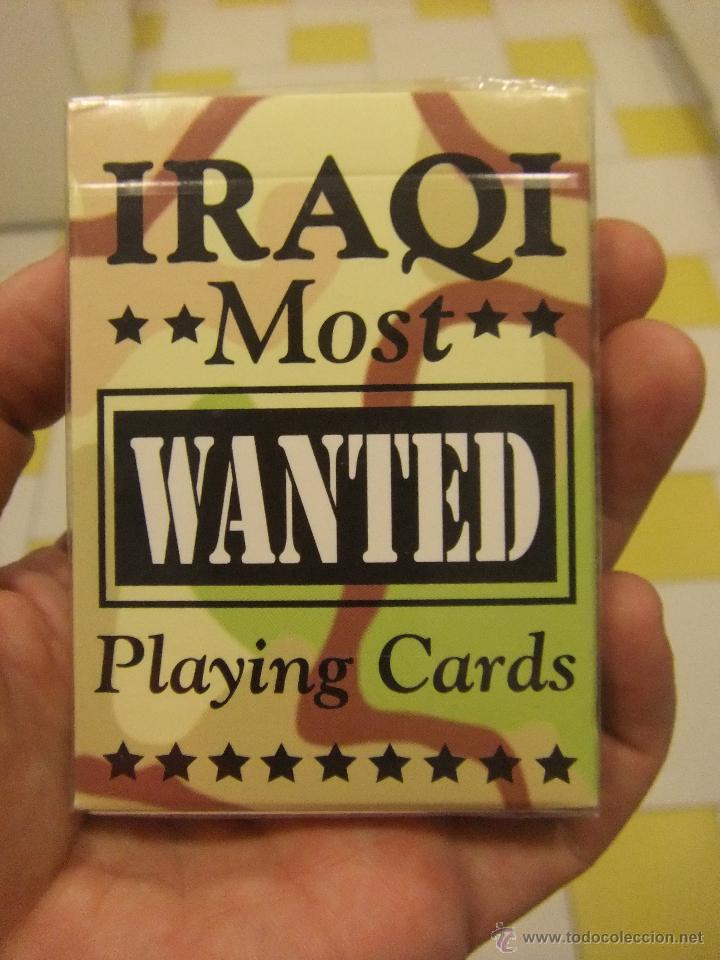 Baraja de cartas guerra del golfo irak - most w - Sold through