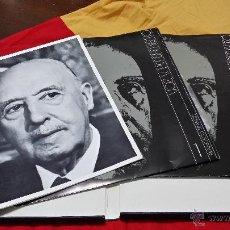 Militaria: FRANCISCO FRANCO, VOZ Y PENSAMIENTO, REVISTA Y TRES DISCOS LP`S DE VINILO. Lote 45191937