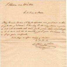 Militaria - GENERAL RAMON REBOLLO - 1ª GUERRA CARLISTA - CARTA AUTOGRAFO DE 1836 - 1C - 45204571