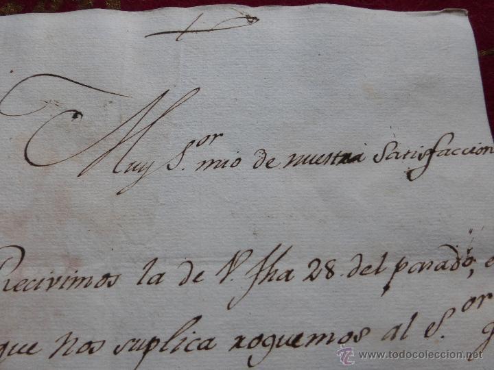 Militaria: IMPORTANTE CARTA ORIGINAL DE LA GUERRA INDEPENDENCIA ESPAÑOLA 13 JUNIO 1808 ALBA DE TORMES / BAYONA - Foto 13 - 45216806