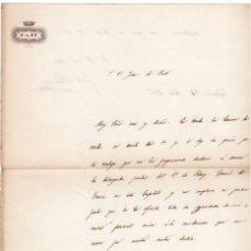 Militaria - GENERAL MANSO - CARTA DE 1846 CON SU AUTOGRAFO - 45268697