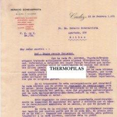 Militaria: 3 CARTAS FABRICA NACIONAL DE TORPEDOS CADIZ AÑO 1931,SUBMARINO,COMPRA BUQUE RECOJE TORPEDOS ALEMANIA. Lote 45815263