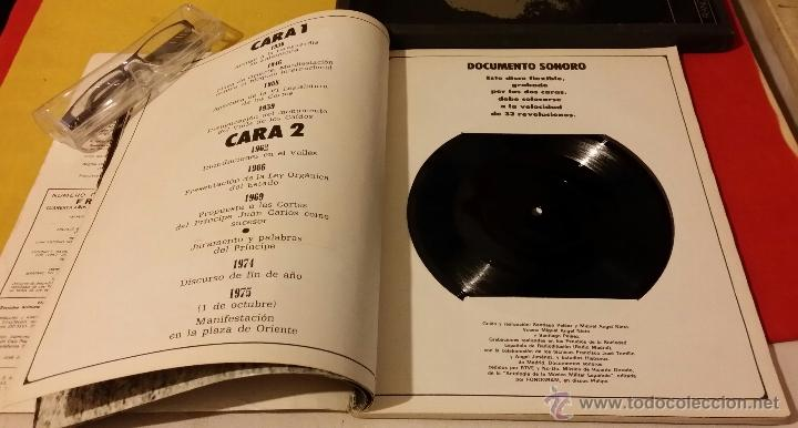 Militaria: FRANCISCO FRANCO, VOZ Y PENSAMIENTO, REVISTA Y 4 DISCOS LP`S DE VINILO - Foto 3 - 45982093