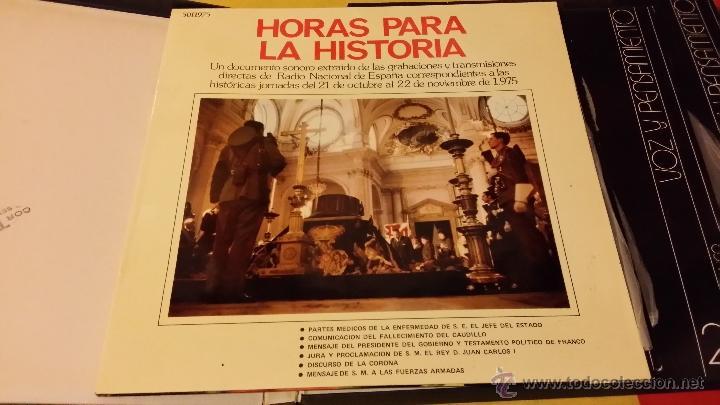Militaria: FRANCISCO FRANCO, VOZ Y PENSAMIENTO, REVISTA Y 4 DISCOS LP`S DE VINILO - Foto 5 - 45982093