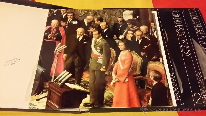 Militaria: FRANCISCO FRANCO, VOZ Y PENSAMIENTO, REVISTA Y 4 DISCOS LP`S DE VINILO - Foto 7 - 45982093