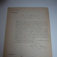 Militaria: DOCUMENTO DE VOLUNTARIOS DE LA I REPUBLICA DE TARRAGONA, 1873, ALCALDIA POPULAR. Lote 46048354