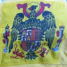 Militaria: BANDERA ESCUDO IMPERIAL ( AGUILA DE SAN JUAN ) EPOCA DE FRANCO. Lote 46248402