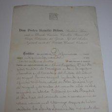 Militaria: DOCUMENTO DE CAPELLAN DE HOSPITAL MILITAR. Lote 46254278