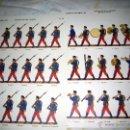 Militaria: 2 LAMINAS DE SOLDADOS ESPAÑOLES 1910- 2- MUSEO DEL EJERCITO. Lote 46321639