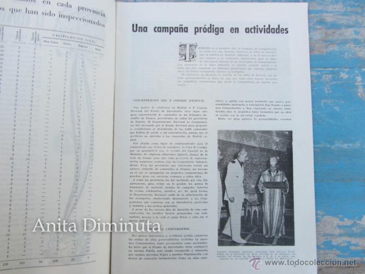 Militaria: ANTIGUA REVISTA MASTIL - BOLETIN MANDOS CAMPAMENTOS DEL FRENTE DE JUVENTUDES - 1953 - AÑO IX Nº 4 - - Foto 2 - 46654442