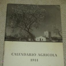 Militaria: CALENDARIO AGRÍCOLA 1944. PROPAGANDA ALEMANIA NAZI JUNTO CON FALANGE MOVIMIENTO Y DATOS AGRÍCOLAS. Lote 46951366