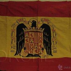 Militaria: 1 BANDERA ESPAÑOLA PRINCIPIOS RÉGIMEN ANTERIOR- - 140X105 CM.. Lote 47083775