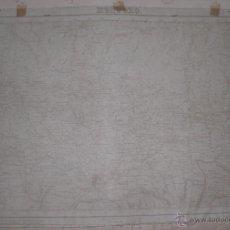 Militaria - Plano Militar de Montoro 1923 Con fondo de tela - 47241914