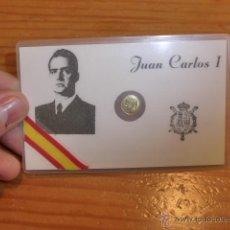 Militaria: RARA MONEDA CONMEMORATIVA DE REY JUAN CARLOS I, DE 1975. Lote 47555977