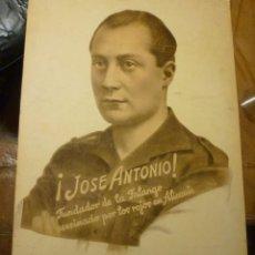 Militaria: RETRATO JOSÉ ANTONIO PRIMO DE RIVERA FALANGE. Lote 47692703