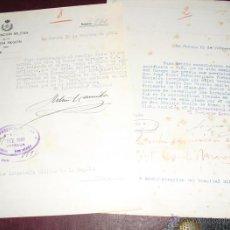 Militaria: 1930 NOMBRAMIENTO Y SUPRESION DE COMISION DE INVESTIGACION DE IRREGULARIDADES. Lote 47771913