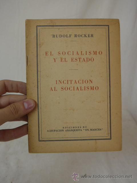 LIBRITO EL SINDICALISMO Y EL ESTADO, INICIACION AL SOCIALISMO. CNT, HECHO EN EXILIO (Militar - Propaganda y Documentos)