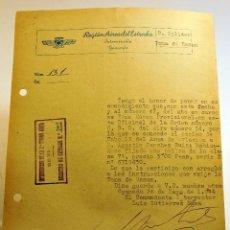 Militaria: CARTA MILITAR DEL AÑO 1944. Lote 48693804