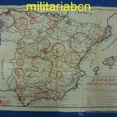 Militaria - Cartel España Combate por la República. Editado por Ediciones España Popular. 400 x 575 mm - 49543984