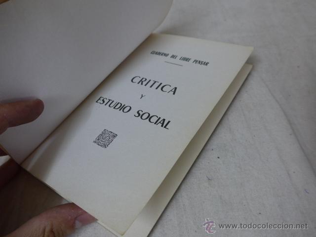 Militaria: Librito critica y estudio social. CNT, hecho en exilio - Foto 2 - 49565406