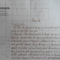 Militaria: 1851 - CUBA - VICARIATO GENERAL CASTRENSE - ORDEN SOBRE EL COBRO DE FUNERALES ARMADA.. Lote 49595159