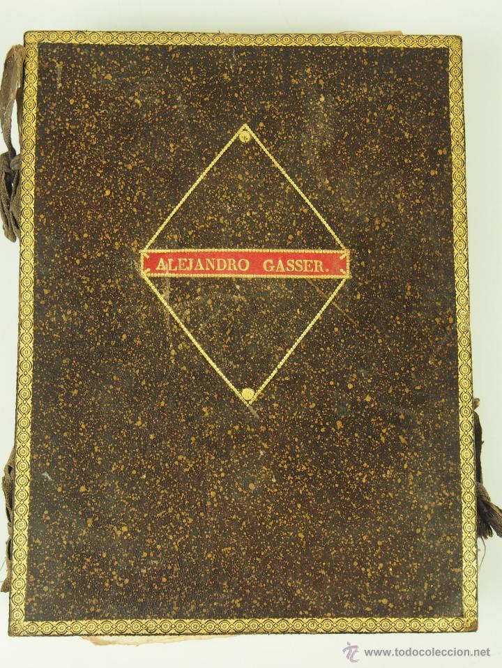 CONJUNTO DE DOCUMENTACIÓN CIVIL Y MILITAR. FAMILIA GASSER.ESPAÑA.CIRCA 1790-1860 (Militar - Propaganda y Documentos)