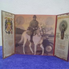 Militaria: TRIPTICO BAZAR NACIONAL PARTICIPACION DE DOS NUMEROS LOTERIA NACIONAL 22/12/2003. Lote 50662116