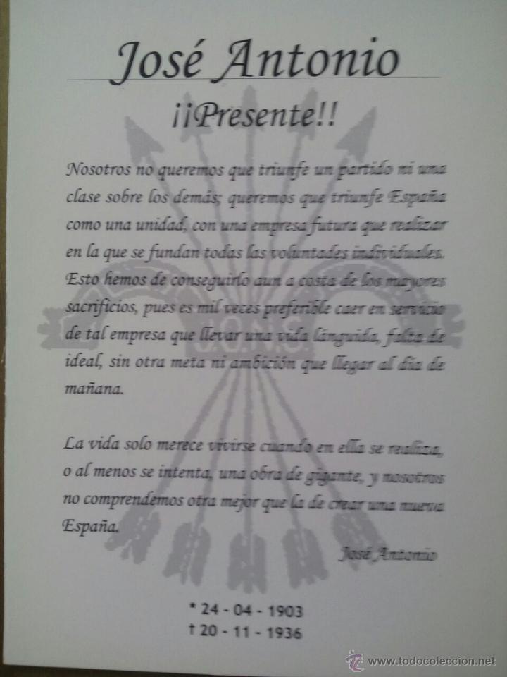 Militaria: POSTAL PRIMO DE RIVERA / EFECTO TRIDIMENSIONAL - Foto 2 - 50662219