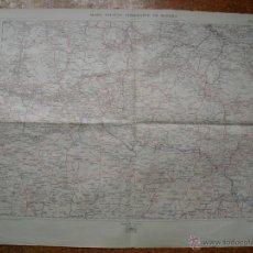 Militaria: 1923 HOJA 15 DEL MAPA MILITAR ITINERARIO BILBAO HARO REINOSA VILLADIEGO. Lote 50765420