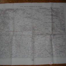 Militaria: 1918 MAPA MILITAR ITINERARIO HOJA 23 MANZANEDA BRAGANZA LA BAÑEZA. Lote 50765485
