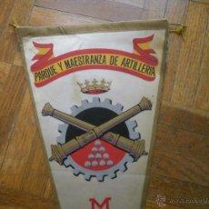 Militaria: BANDERÍN PARQUE Y MAESTRANZA DE ARTILLERÍA. MADRID. Lote 51688146
