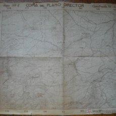 Militaria: MAPA MILITAR DE EL PALANCAR 60X80 CMS E 1:10000. Lote 51726262