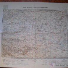 Militaria: MAPA MILITAR ITINERARIO E 1:200000 HOJA Nº 55 TOLEDO Y N. DE CIUDAD REAL. Lote 106598194
